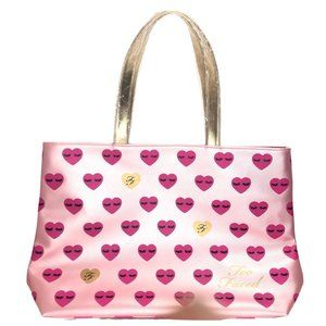 New Too Faced Better Than Sex Hearts Tote Bag